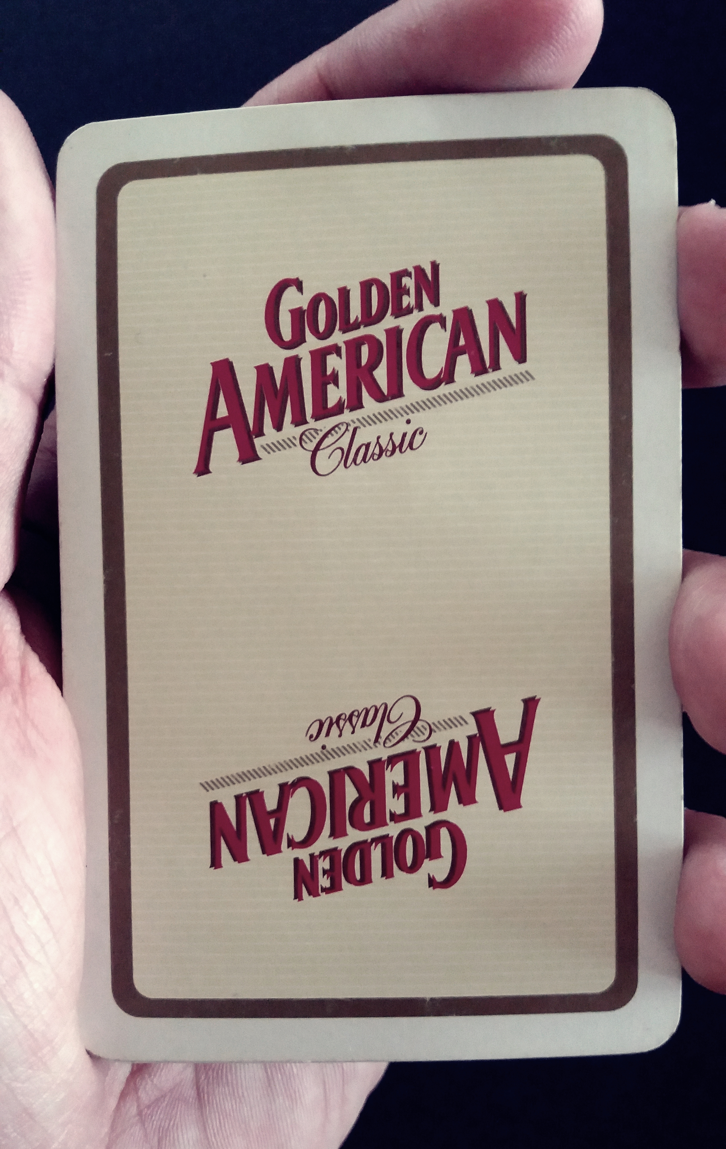 #dorso GOLDEN AMERICANCLASSIC